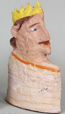 William Dickey King Signed Clay Terracotta Portrait Bust Sculpture. 2003