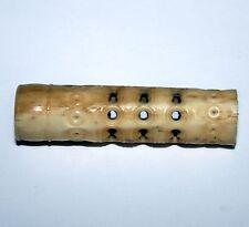 Vintage Carved Bone Threaded Tube Cigarette Holder??  Old Art