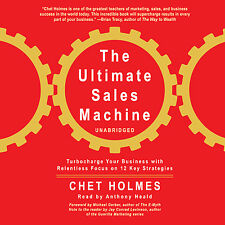 The Ultimate Sales Machine by Chet Holmes CD 2007 Unabridged