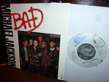 Michael Jackson  Bad  I can't Help it  EPIC EPC 6511007  1987  Holland 7""
