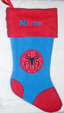 Gorgeous SPIDERMAN Personalized Christmas Stocking,