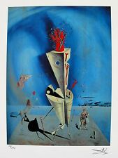Salvador Dali APARATUS AT HAND Facsimile Signed & Numbered Giclee