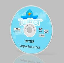 TWITTER Complete  Business Pack DVD - Video Courses, Expert Guides & More!