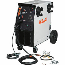 Hobart IronMan 230 230V Flux Cored/MIG Welder-250 Amp Output #500536
