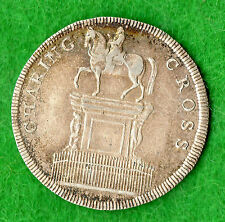 Middlesex London Charing Cross 19th Century Silver Token D11 Shilling
