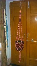 50inch Macrame plant hanger 6 strands for big pots