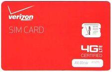 New Activation Verizon Micro Sim  Plan $60  (MICRO SIM)