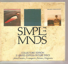 "SIMPLE MINDS ""Collectors' Edition"" limited Edition 3CD Box"