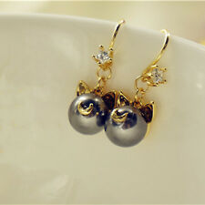 Sailor Moon 20th Anniversa Artemis Luna pearl pierced earrings ear pendants cos