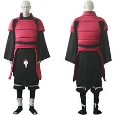 New Top Quality Naruto Anime Madara Uchiha Deluxe Cosplay Costume S-XXL