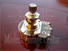 "1  Modern Vintage Guitar B250K Potentiometer Alpha Pot 24mm 5/16"" shaft BR"