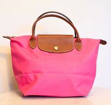 Longchamp Le Pliage Small Shopper Tote Bag in Pink. Made in France