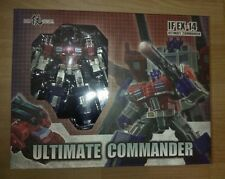 New Iron Factory Transformers IF EX-14 Ultimate Commander God Ginrai In Stock