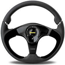 MOMO NERO STEERING WHEEL: 350mm (BLACK) NER35BK0B