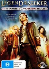 LEGEND OF THE SEEKER : SEASON 2 (english cover)  - DVD - UK Compatible