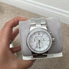 NWT MICHAEL KORS  Women's Dylan Glitz Oversized Watch MK5385W