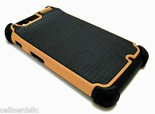 Hybrid Rugged Dual Case Cover For Motorola Droid Razr Verizon XT910 ORANGE