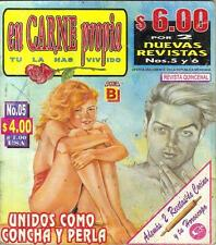 """EN CARNE PROPIA"" mexican comic SEXY GIRLS, SPICY HISTORIES #5"