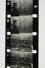 OLD FOOTBALL GAME PRACTICE  HOME MOVIE B & W  16MM FILM ROLLED NO REEL D50