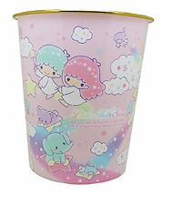 Sanrio Character Trash Recycle Plastic Bin Can Japan Edition (Little Twin Star M