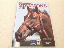 HORSE RACING STALLIONS THOROUGHBREDS 2016 OFFICIAL BOOK COOLMORE GODOLPHIN DARLY