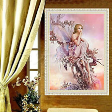5D Fairy Butterfly DIY Diamond Embroidery Painting Cross Stitch Home Decor Craft