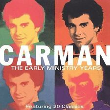 The Early Ministry Years by Carman CD, May-2002, 2 Discs, Madacy Christian
