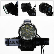 10000lm 7x Cree X-ML T6 MTB Mountain Bike Bicycle Cycling Front Head Lights Lamp