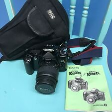 Canon EOS Rebel XS Film Camera EF 35-80mm With Case