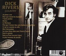 Dick RIVERS country rare CD  album CANADA