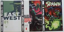 3 IMAGE FIRSTS Comics  EAST OF WEST   BLACK SCIENCE    SPAWN