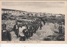 Z448) WW1 MONTE SAN MICHELE, PRIGIONIERI AUSTRIACI A SAN MARTINO (GORIZIA).