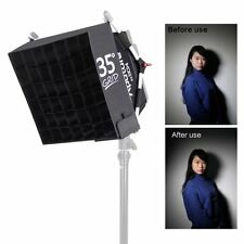 Aputure Video Luz Softbox/Difusor de cuadrícula Reflector Kit Para AL-528 HR-672 S0F0