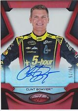 2016 PANINI Certified  Racing Clint Bowyer /75 Autograph Auto
