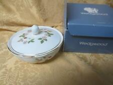 New NOS Boxed Wedgwood Bone China Wild Strawberry Murray Bowl Made in UK