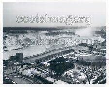 1969 Winter Scene Niagara Falls 1960s New York Ontario Press Photo