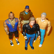 VINTAGE 1983 GALOOB A-TEAM ATEAM ACTION FIGURES LOT B.A. HANNIBAL MURDOCK FACE