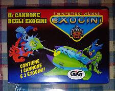 EXOGINI - IL CANNONE DEGLI EXOGENI - I MISTERIOSI ALIENI