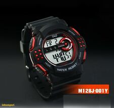 NEW Q&Q BY CITIZEN JAPAN MEN'S SPORT WATCH BLACK  DIGITAL