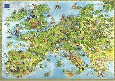PUZZLE HEYE 4000 PEZZI MARINO DEGANO: UNITED DRAGONS OF EUROPE 136X96CM ART 8854