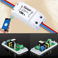 WiFi Smart Switch Sonoff Module Socket for DIY Home lámpara iOS/Android APP