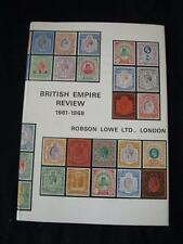 BRITISH EMPIRE REVIEW 1961 - 1968 by ROBSON LOWE