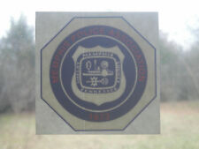 Memphis Police Association - old style window sticker