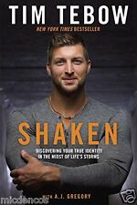 Shaken:Discovering Your True Identity in the Midst of Life's Storms by Tim Tebow