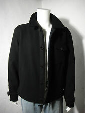NWT $495 Polo RALPH LAUREN Military/Flight Wool Jacket Black size M