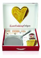 BALLARINI I LOVE COOKING CREPES PADELLA PIASTRA COTTURA NUTELLA PAN CREPES