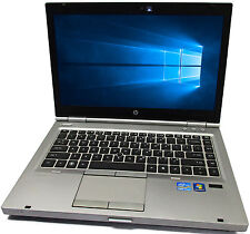 "HP EliteBook 8460P 14"" i7-2620M 2.7GHz 500GB 4GB Webcam Bluetooth No Windows"