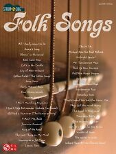 Folk Songs Sheet Music Strum & Sing Series Easy Guitar Book NEW 002501482