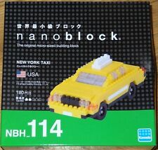 New York Taxi Nanoblock micro-sized building block construction toy Mini Kawada