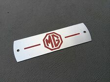 MG ,MGB GT Red Rocker Valve Cover Plate Alloy , New Bd1-d2